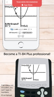 TI 84 Graphing Calculator Man. iphone images