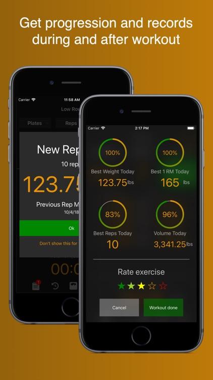 Gym Horn: Workout Log Tracker screenshot-3