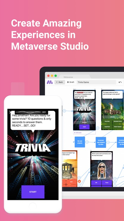 Metaverse - Experience Browser