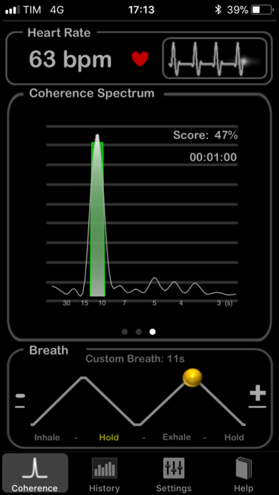 HeartRate+ Coherence screenshot1