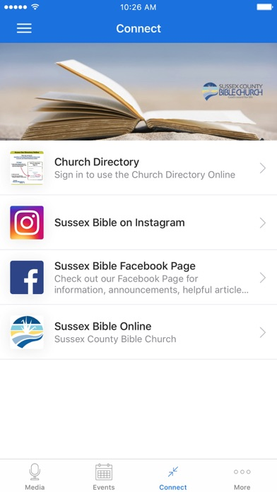 Sussex County Bible Church screenshot 3