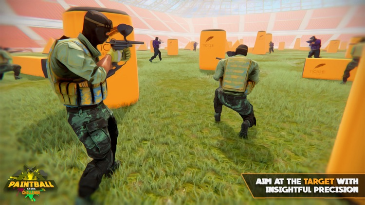 Paintball Arena Challenge