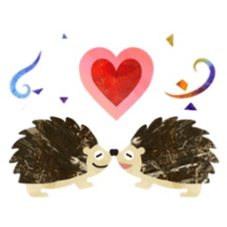 Cute Hedgehog - Hedgmoji Sticker