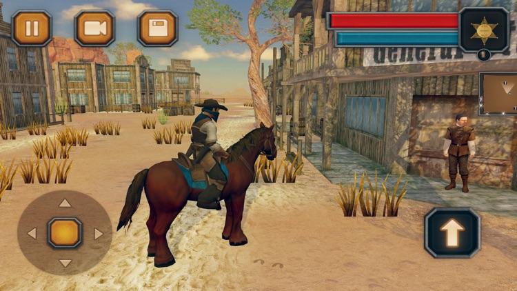 Wild West Cowboy-Rodeo Horse screenshot-3
