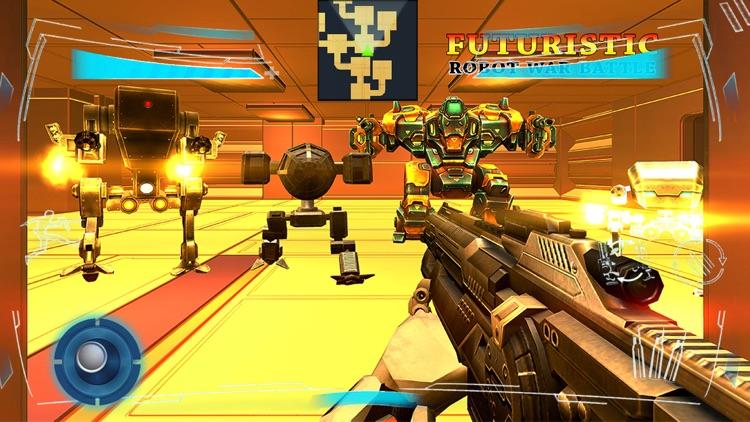 Futuristic Robot War Battle screenshot-3