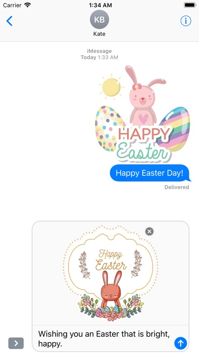 Happy Easter Day Stickers screenshot 5