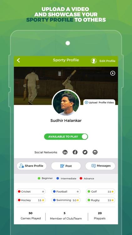 SportsJig - Sports near you! screenshot-4