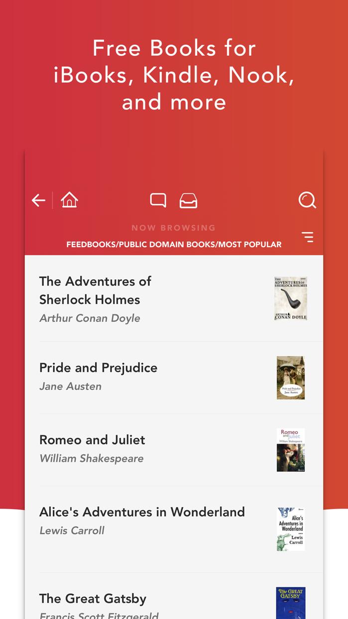 eBook Search - EPUBs & iBooks Screenshot