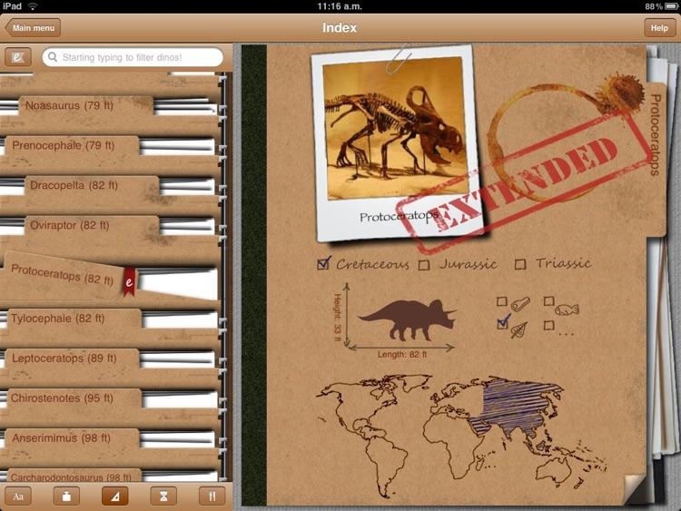Dinosaur Book HD: iDinobook screenshot-4