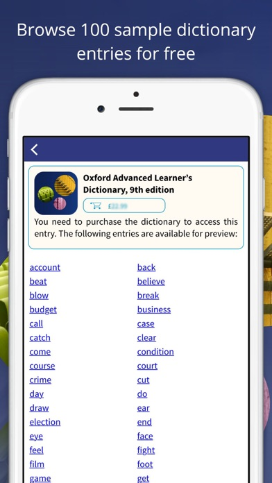 Oxford Advanced Learner's Dict for Windows