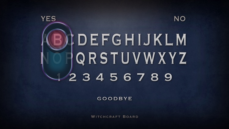 Witchcraft Board