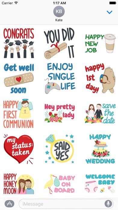 download Colorful Greetings Sticker apps 0