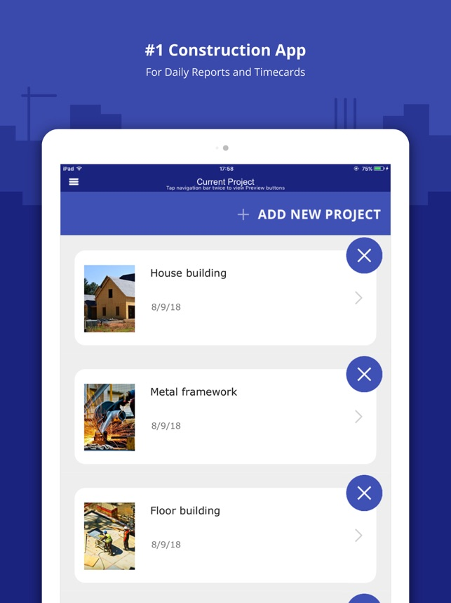 construction daily log app on the app store