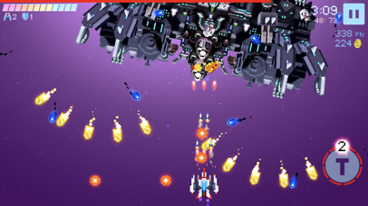 Galaxy Spiral Shooter Screenshot on iOS