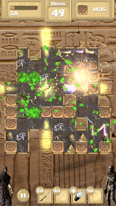Assassin Vs Mummies - Match 3 screenshot three