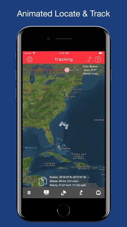 ISS Real-Time Tracker screenshot-0