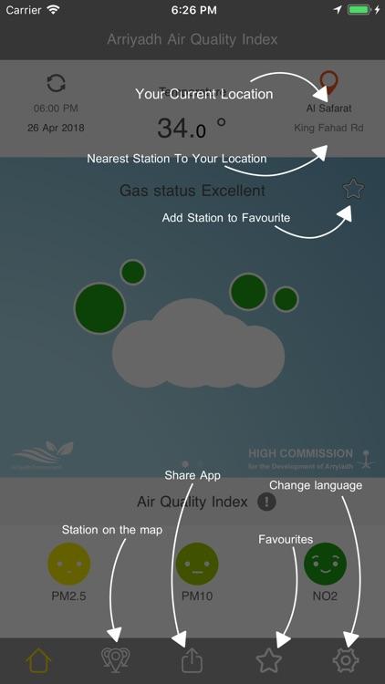 جودة هواء الرياض screenshot-8