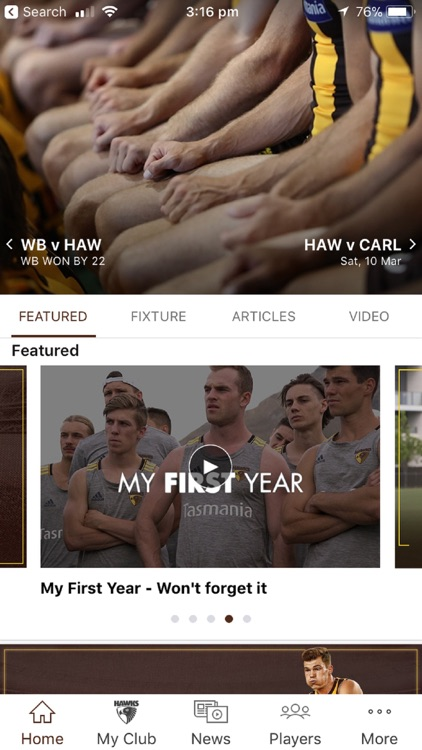Hawthorn Official App