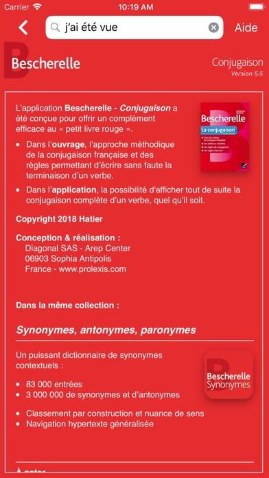 Bescherelle Conjugaison screenshot1