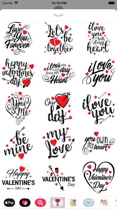 Love Stickers Valentine's Days screenshot 4