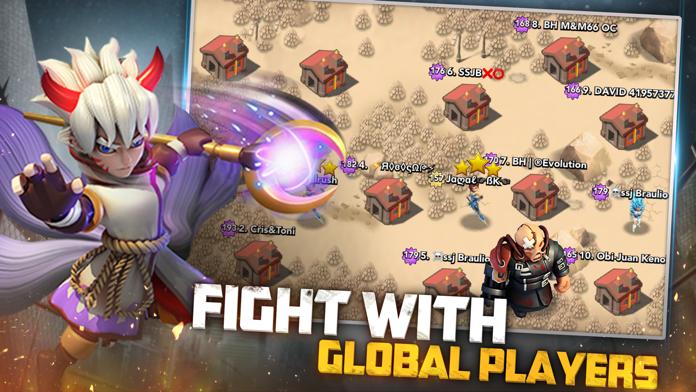X-War: Clash of Zombies Screenshot
