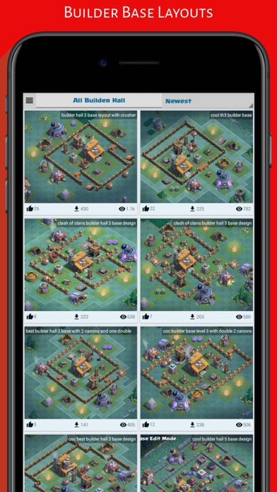 Top Maps for Clash of Clans App Download - Android APK