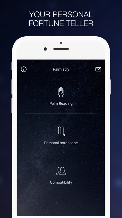 Palmistry - Palm Reading & Daily Zodiac Horoscope screenshot-0