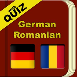 German Romanian Dictionary with Quiz