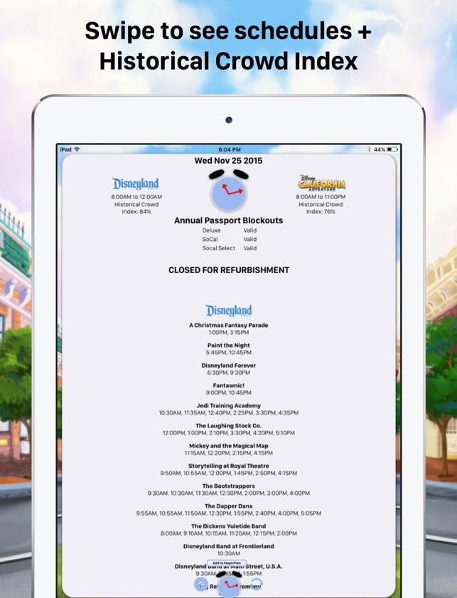 MouseWait Disneyland Lounge on the App Store