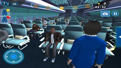 Flight Attendant Simulator 3D screenshot one