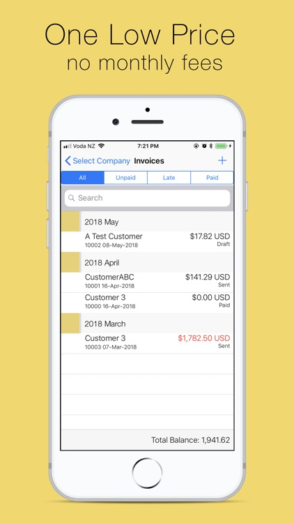 Bee Invoicing Mobile