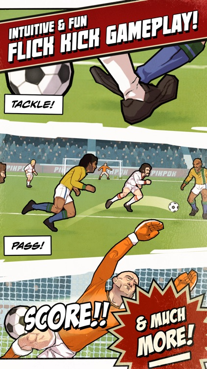 Flick Kick Football Legends screenshot-1