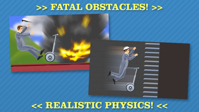 Screenshot from Happy Wheels