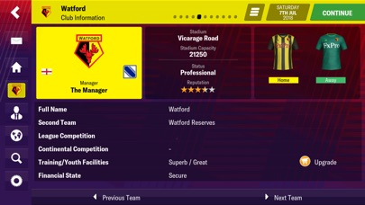 Screenshot for Football Manager 2019 Mobile in New Zealand App Store
