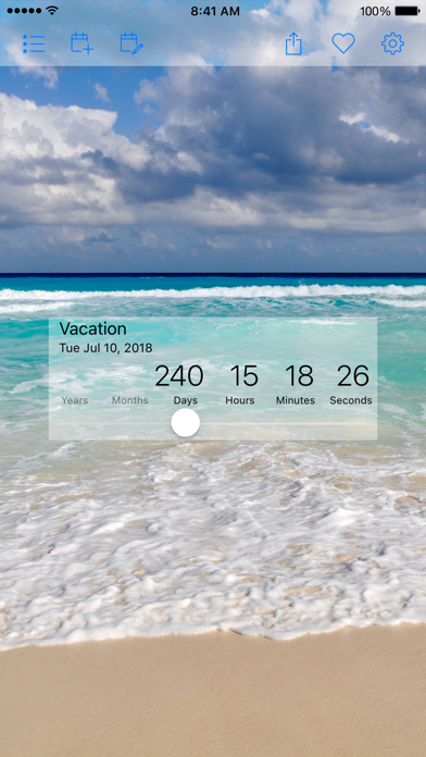 Countdown Star (Ad-Free) app image