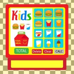 Burger Cash Register Full