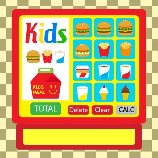 Burger Cash Register Full