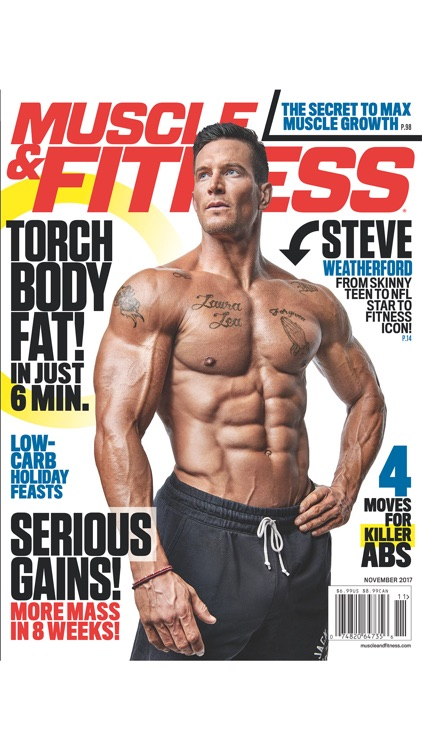 Muscle & Fitness screenshot-1