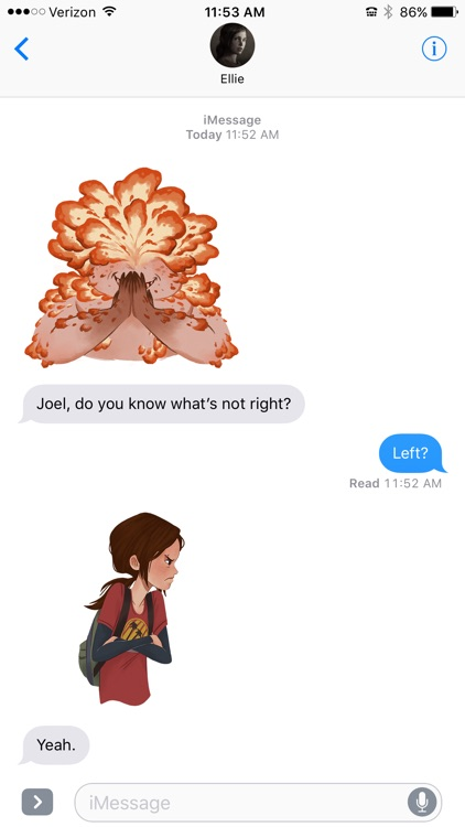 The Last of Us Stickers screenshot-5