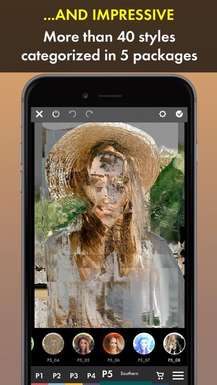 Glitch Art Photo Maker screenshot-3