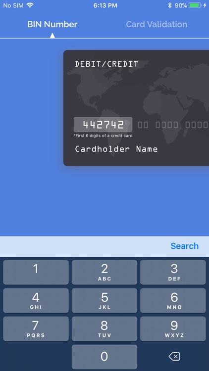 BIN Check: Credit Card Checker