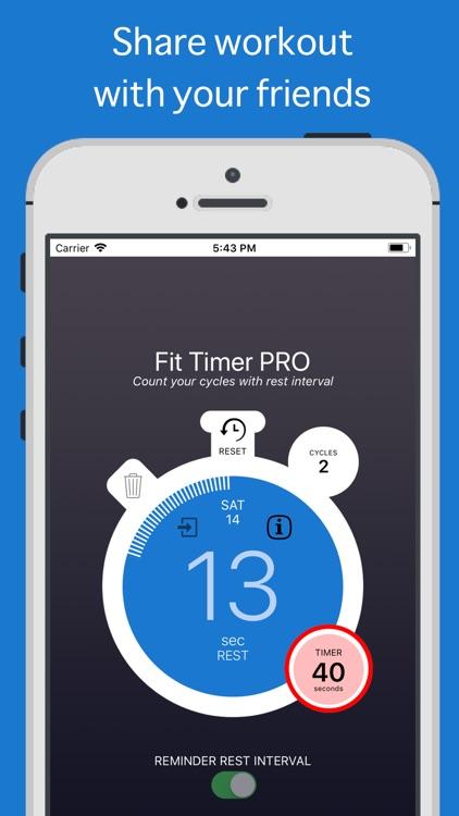 Fit Timer PRO screenshot-3