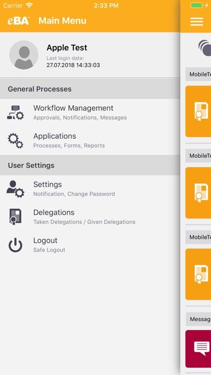 eBA Mobile - Bimser Çözüm screenshot-3