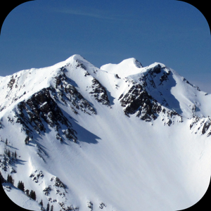 Wasatch Backcountry Skiing Map app