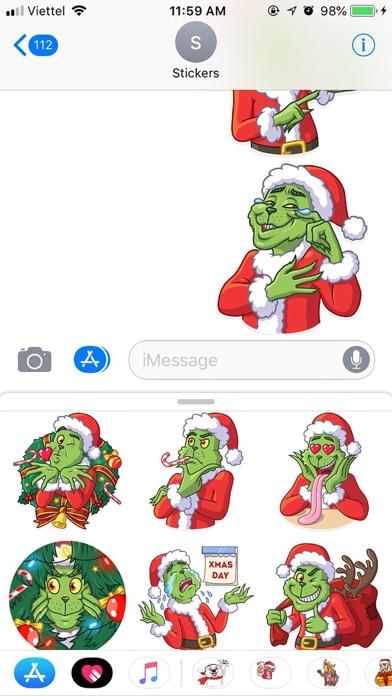 Christmas Funny Sticker 2019 screenshot 4