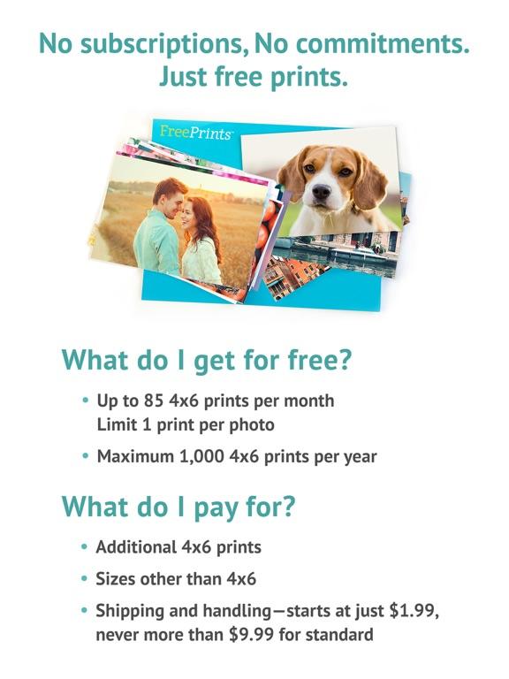 Screenshots for FreePrints – Photos Delivered