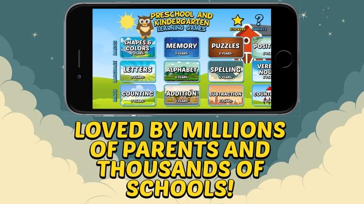 Preschool & Kindergarten Games