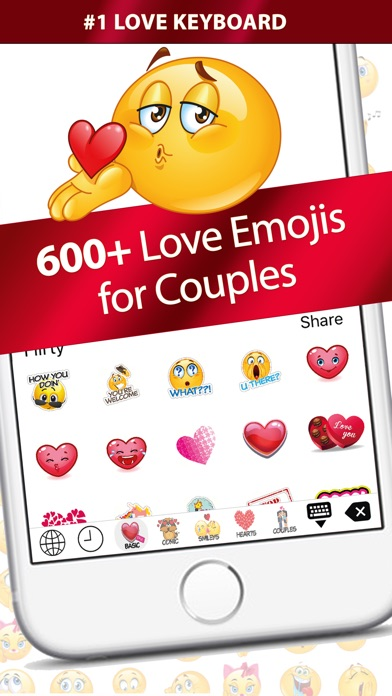 Love Emoji – Extra Emojis Keyboard