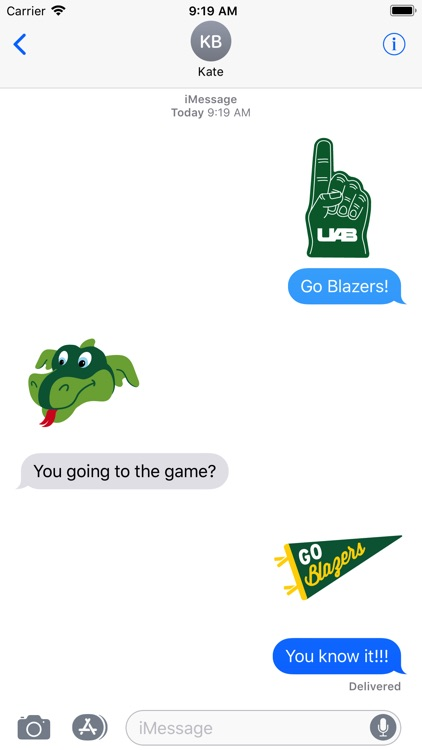 UAB Stickers