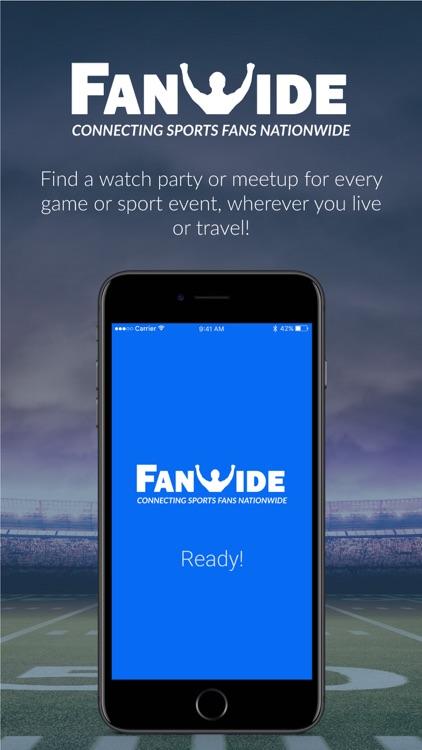 FanWide – Watch Parties, Meetups for Sports Fans screenshot-4